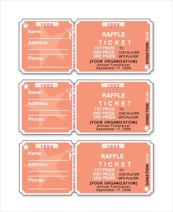 raffle ticket template word incheonfair
