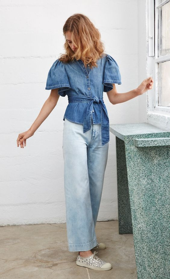 """I always want to make our denim exciting and compelling and fresh. To give me that feeling when my heart races a bit and I just fall in love."" - Rebecca"