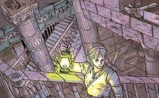 The Legend Of Zelda Link S Awakening Official Art From