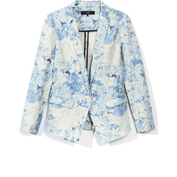 Tibi: Daisies Jacket ($595) ❤ liked on Polyvore