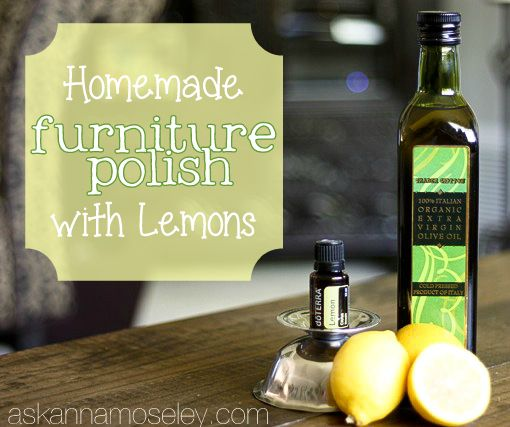 Homemade vegetables and furniture on pinterest for Homemade furniture polish mineral oil