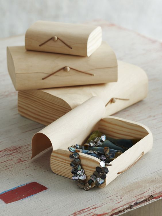 Birch Gift Boxes - perfect for wrapping Christmas gifts in something special