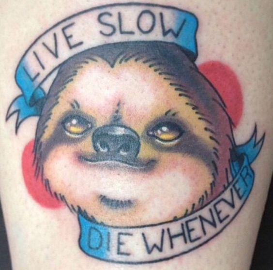 Tattoo Live Slow