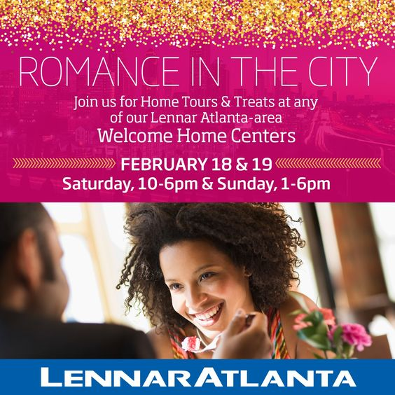Please join us today for home tours and treats from 1-6pm at any of our Atlanta-area Welcome Home Centers. While you're here, register for a chance to win a romantic weekend getaway! http://spr.ly/64968VwZM