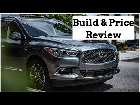 2020 Infiniti Qx60 Luxe Awd Suv Build Price Review Infiniti Awd Suv