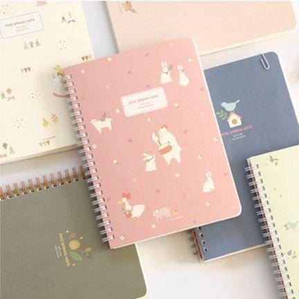 Piyo Spring Notebook & Planner