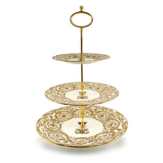 Buckingham Palace Victoria and Albert Cake Stand