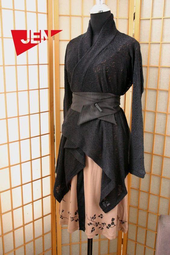 Winter Sale 15% Off under 50 black wool belt with by jenfashion