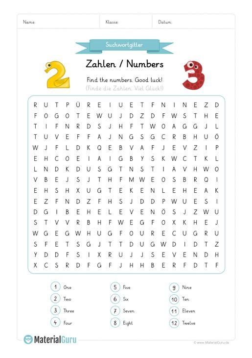 Tipss Und Vorlagen Englisch Lernen Zahlen Numbers Kindegarten Pdf Englisch Lernen Englisch Arbeitsblatter Englisch Nachhilfe
