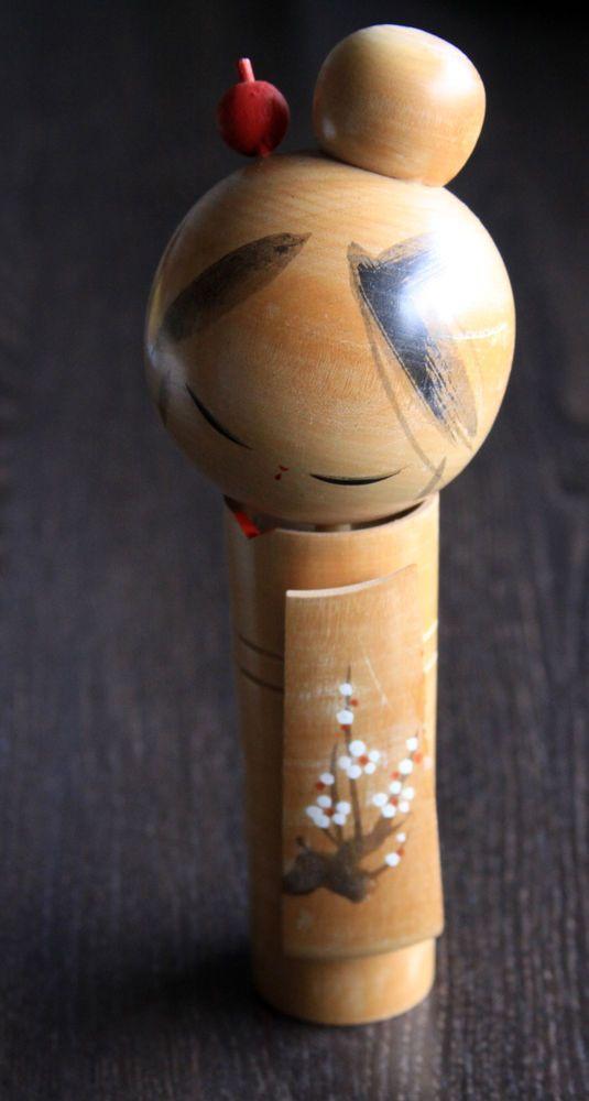 Design Kokeshi,Holzpuppe,Handmade,alt,sehr schön in Antiquitäten & Kunst, Internationale Antiq. & Kunst, Asiatika: Japan | eBay