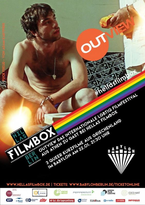 Greek Gay Culture Visits Berlin with Outview Film Festival