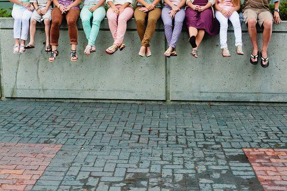 Big family photography idea. <3 :)
