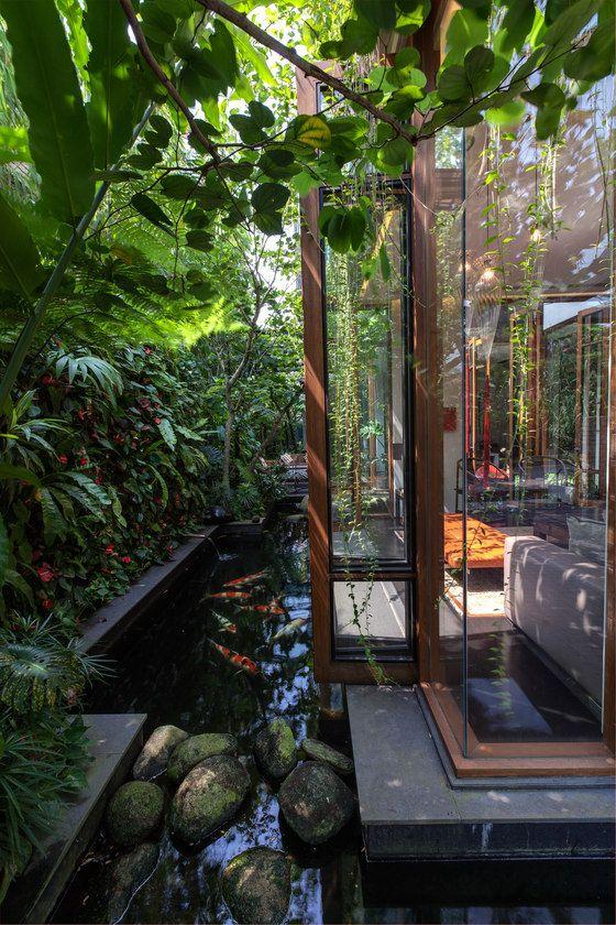 Tanâs Garden Villa von Aamer Architects   Einfamilienhäuser