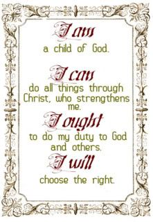 CM's Motto for the student - I am, I can, I ought, I will!