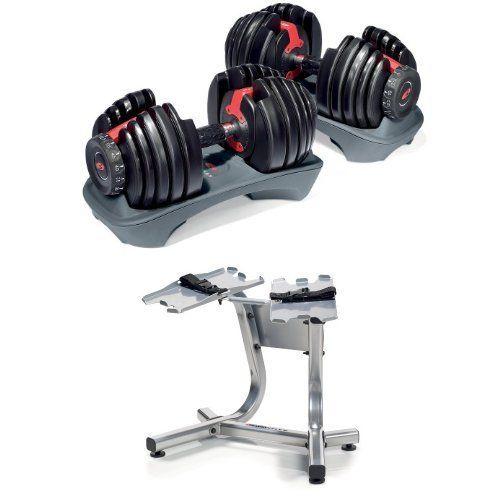 Bowflex Selecttech 552 Adjustable Dumbbells Pair With Images Adjustable Dumbbells Best Adjustable Dumbbells Bowflex