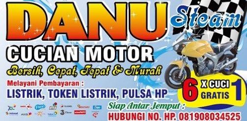 20+ Latest Contoh Banner Untuk Cuci Motor