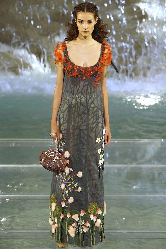 Fendi Fall 2016 Couture Fashion Show - Camille Hurel