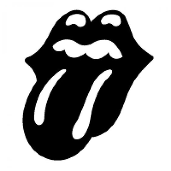 The Rolling Stones Tongue by Martin the Mod