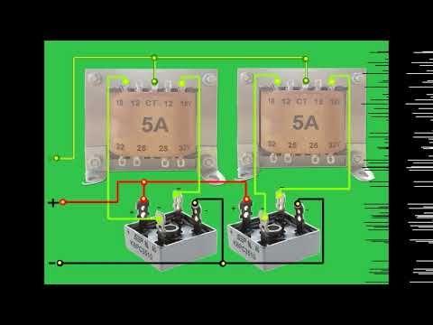 Gabung 2 Trafo Ct Youtube Electronic Engineering Youtube Electronic Schematics