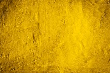 yellow concrete wall texture background