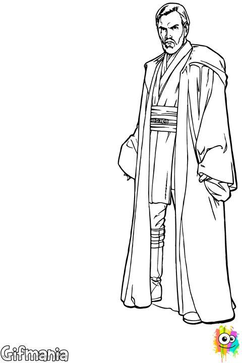 Obi One Kenobi Clip Art - Cliparts