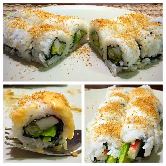 Eat Primp Love: California Sushi Rolls