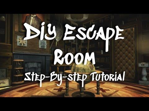 Diy Escape Room Step By Step Tutorial Moderate Difficulty Travel Theme Room For Adults Teens In 2020 Escape Room For Kids Travel Themed Room Escape Room Diy