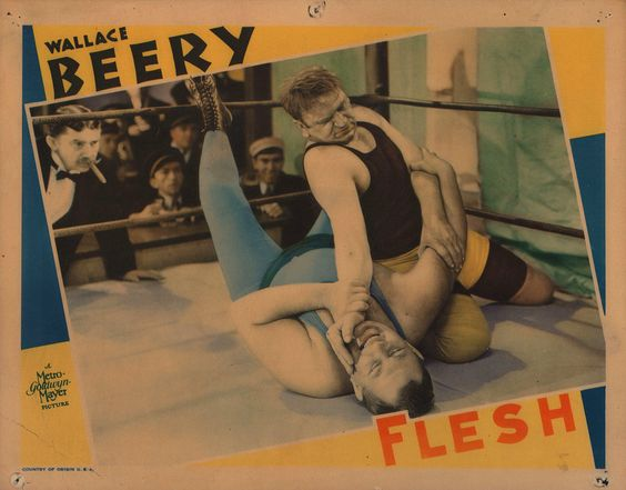 Wallace Beery in Flesh. 1932