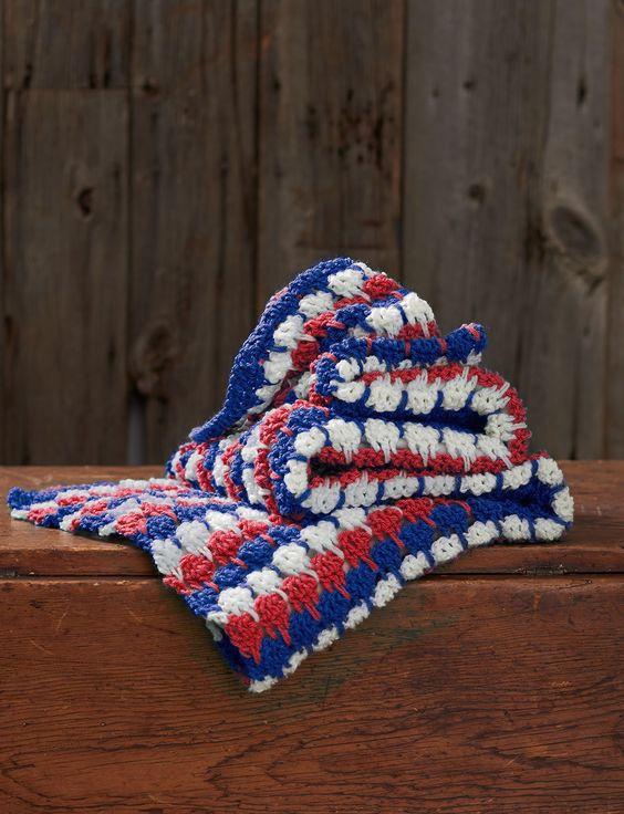 Yarnspirations Free Crochet Patterns : Free pattern, Adobe and Afghan crochet on Pinterest