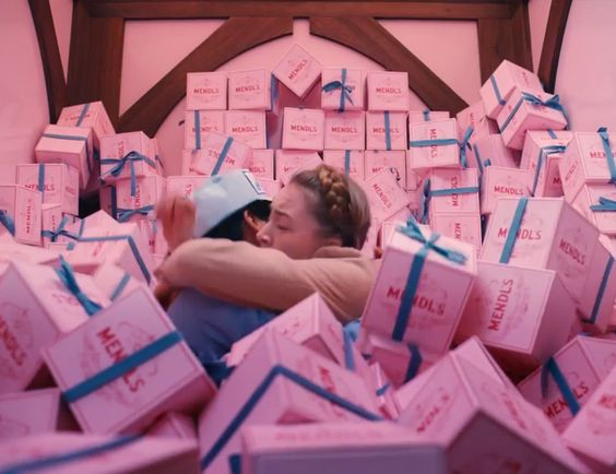 all we want for christmas is a room filled with pink presents!