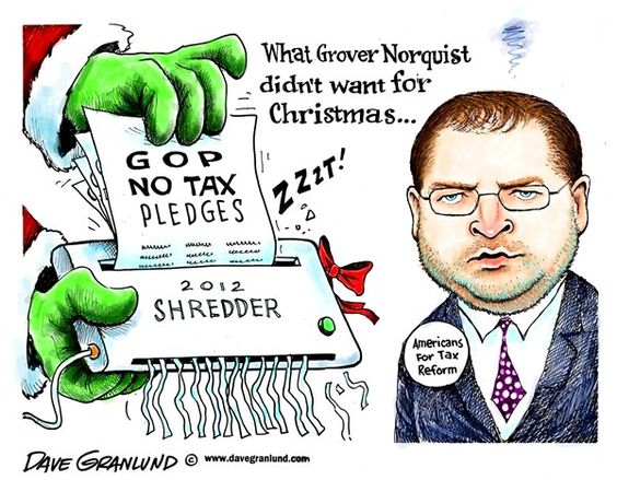 Norquist and GOP pledges
