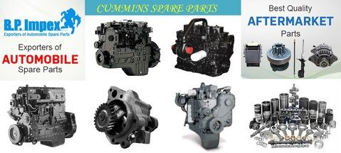 Now finding genuine Cummins spare parts is easy as a cakewalk!  | If you're looking for a simple, time-saving and money-saving way of ordering Cummins Spare Parts, then trust none other than BP Auto Spares India!