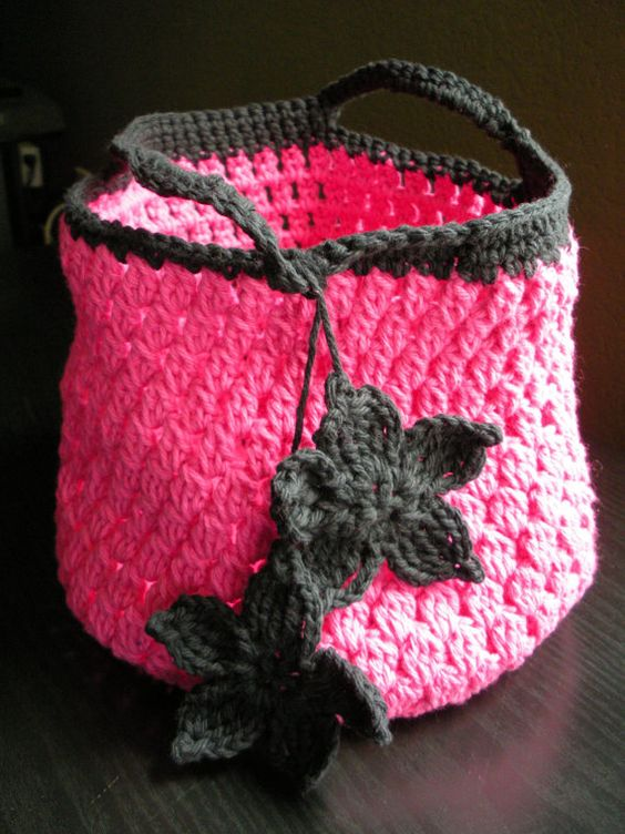 Crochet Cotton Lunch Tote Pattern Bags, Lunch tote and ...