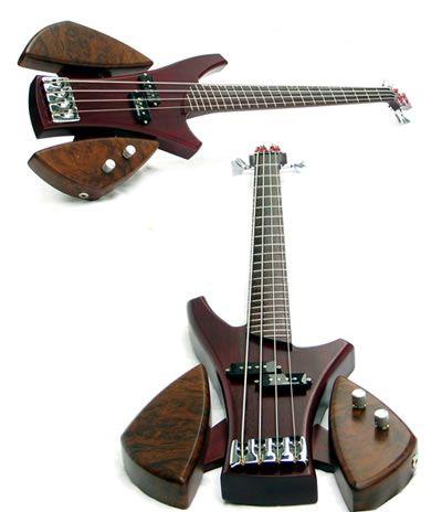 Luthier Murray Kuun Offering First Bass, Elemental Bass