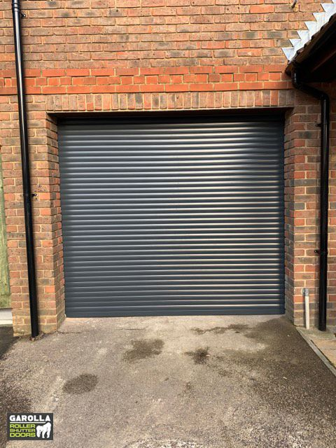 Anthracite Grey Roller Door Roller Doors Garage Door Types Grey Garage Doors