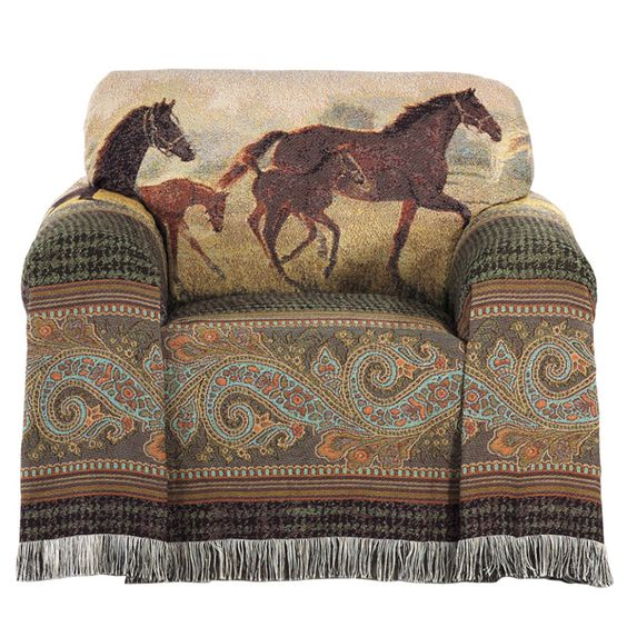 New Hope Chair Cover - Western Wear, Equestrian Inspired Clothing, Jewelry, Home Décor, Gifts