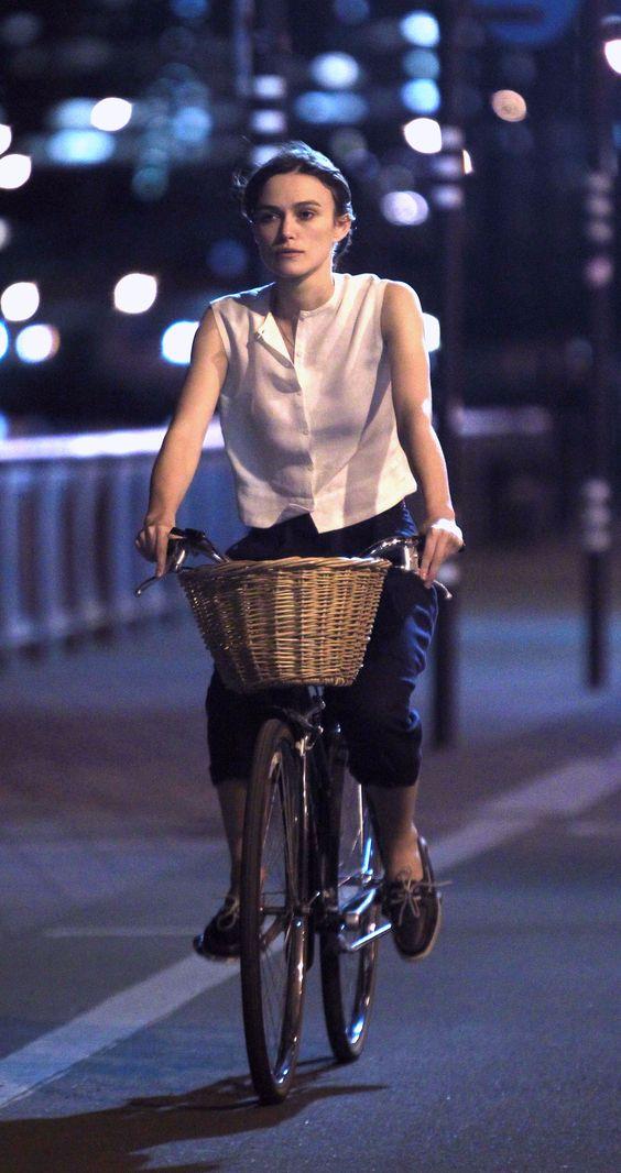 estilo en bicicleta