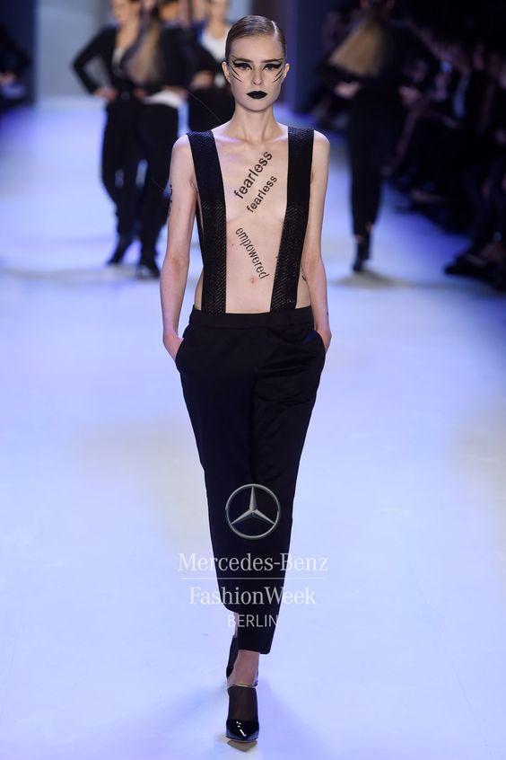 Mercedes-Benz Fashion Week Berlin – Focus On Fashion It's Showtime - Maybelline New York A/W 2015