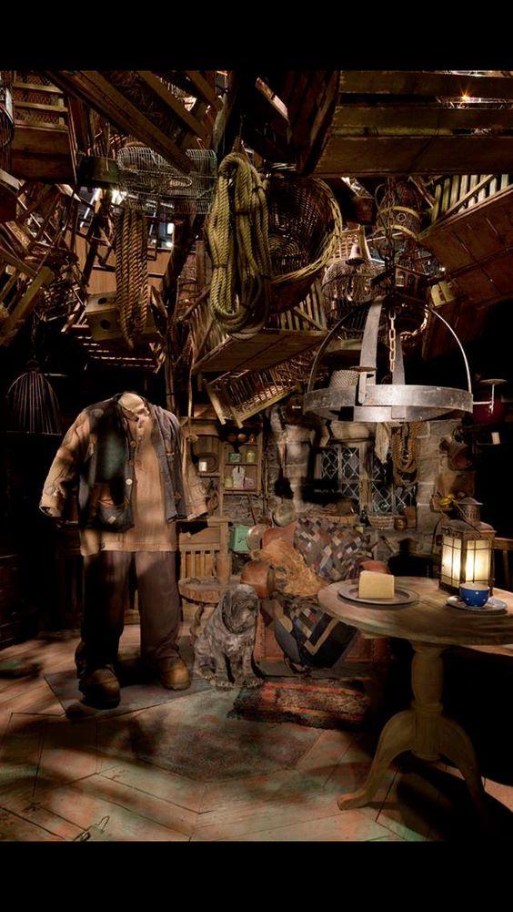 Hagrid S Hut Harry Potter Christmas Harry Potter Aesthetic Harry Potter Exhibition