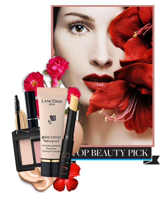 """""""Beauty Look #32"""" by lookat ❤ liked on Polyvore featuring beauty, Napoleon Perdis, tarte, NARS Cosmetics, Lancôme and myfavorite"""