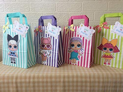 Lol Surprise Doll Party Favours Amazon Co Uk Handmade Birthday Surprise Party Doll Party Lol Dolls