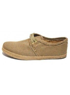Línea Yute America Dorado - Zapatos para Hombre en el bazar en Línea - Snob Cultural