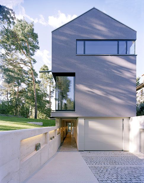 Modern haus and haus on pinterest for Hausformen einfamilienhaus