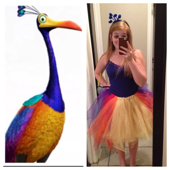 Halloween costumes, Up costumes and Halloween on Pinterest Kevin Up Bird Noise