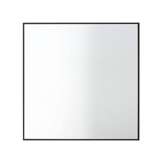View Mirror 56x56cm, Black, 517
