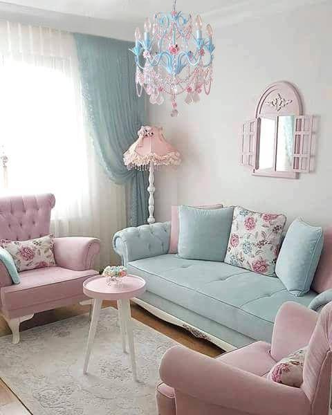 50s 60s Vintage Pastel Furniture Decor Pretty Furniture Unique