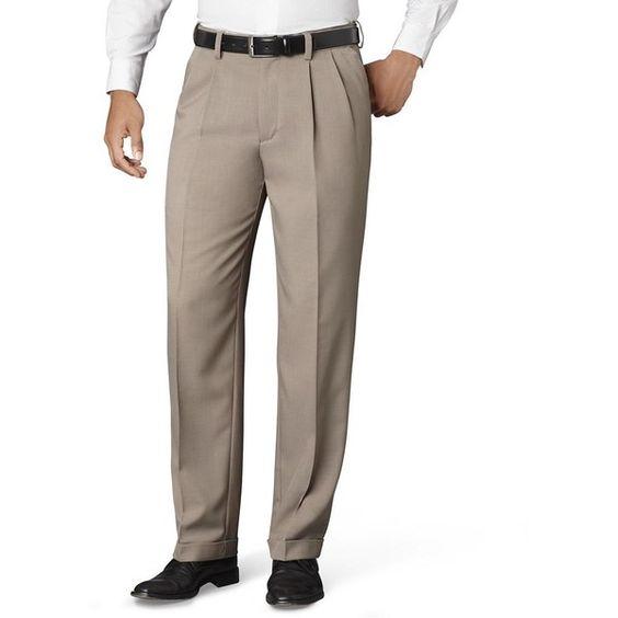 Big & Tall Van Heusen Classic-Fit No-Iron Pleated Dress Pants ($40 ...