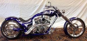 Custom Chopper Eddy Trotta Show bike Victory Harley