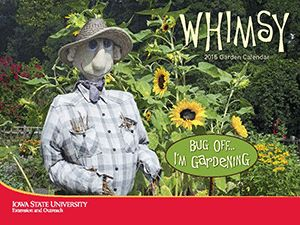 The 2015 Garden calendar: Whimsy is now available.