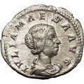 Julia Maesa Elagbalus Grandmother Silver Ancient Roman Coin Good luck i53234